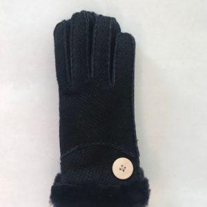 Handschoenen suède donkerblauw